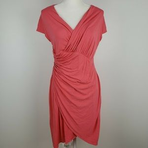 Tommy Bahama Coral Faux Wrap Dress